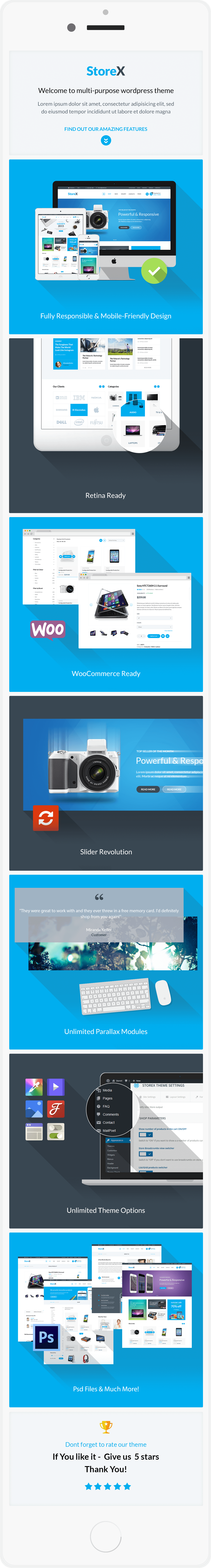 StoreX - Modern Electronics Shop WordPress Theme
